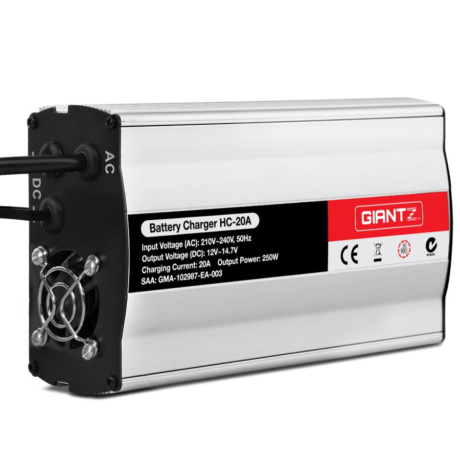 Giantz 12V Battery Charger