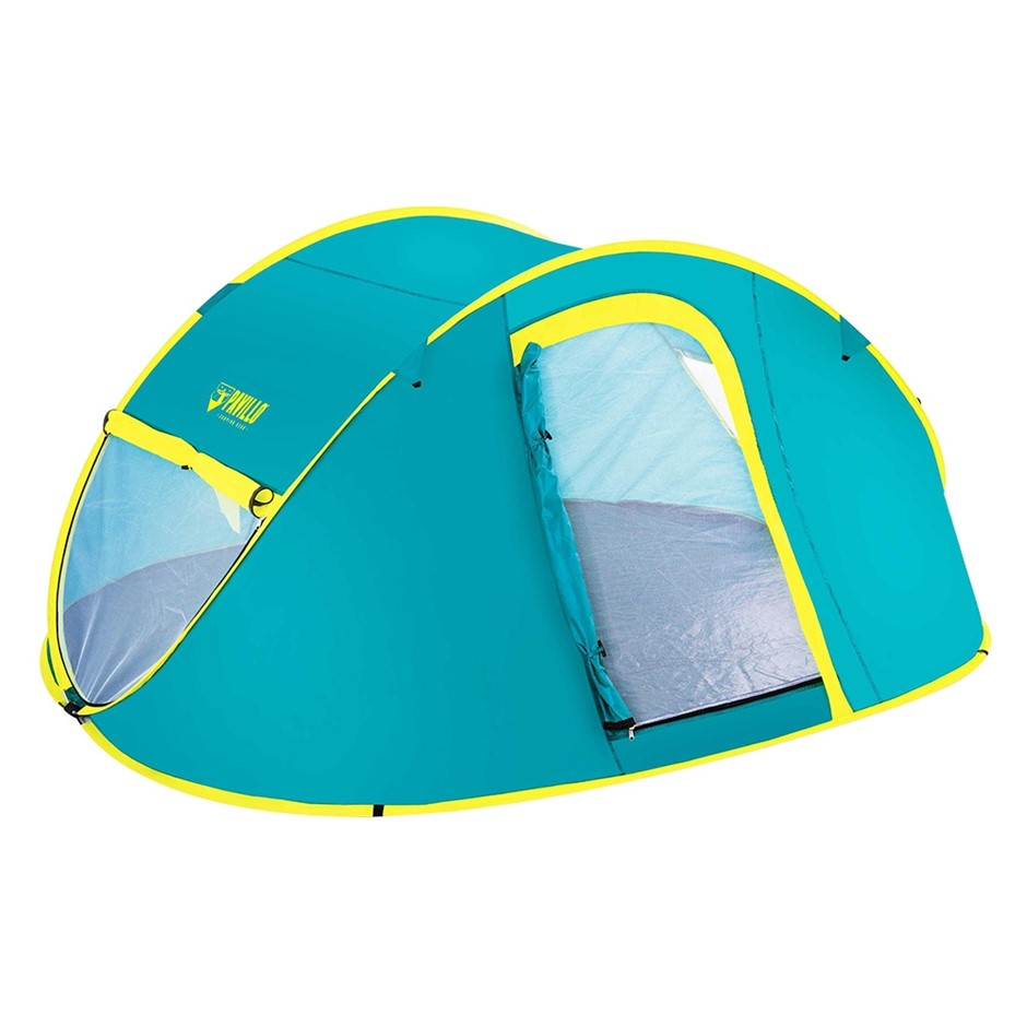 Bestway Family Camping Tent Pop Up 4 Person Canvas Hiking Outdoor Beach