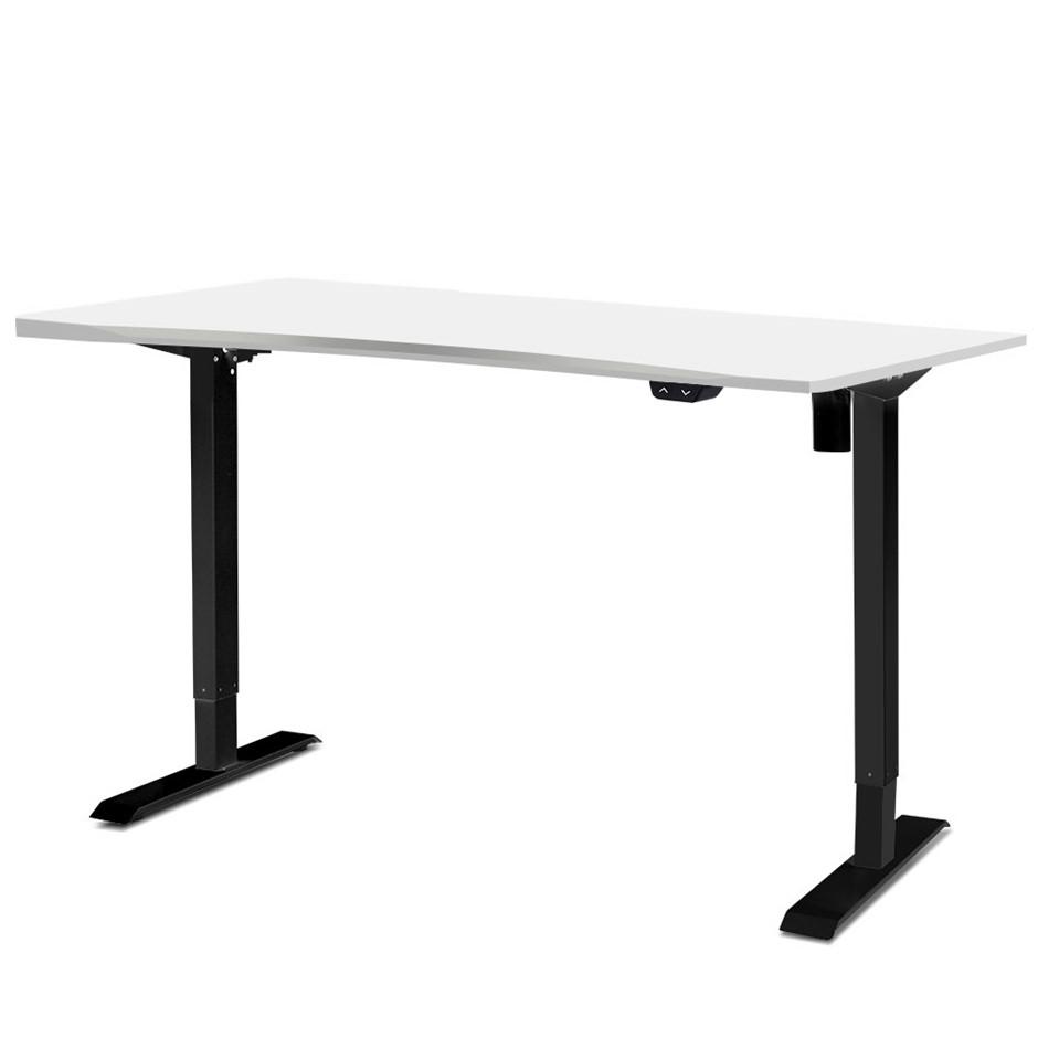 Artiss Electric Height Adjustable Standing Desk Motorised Table Office