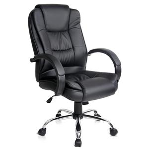 Executive PU Leather Office Desk Compute