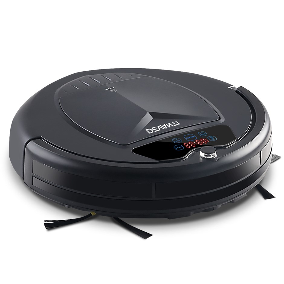 Devanti Robot Vacuum Cleaner Carpet Floor Dry Clean Automatic Recharge