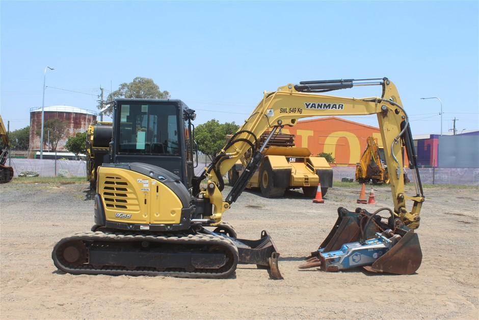 2013 Yanmar ViO55-6B Hydraulic Excavator