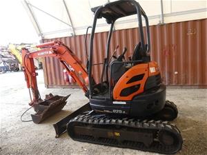 Kubota U25-3S Hydraulic Excavator