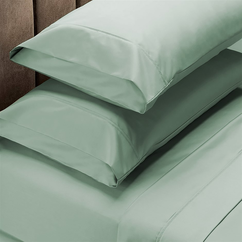 Royal Comfort 1000 TC Cotton Blend Sheet sets King Green Mist