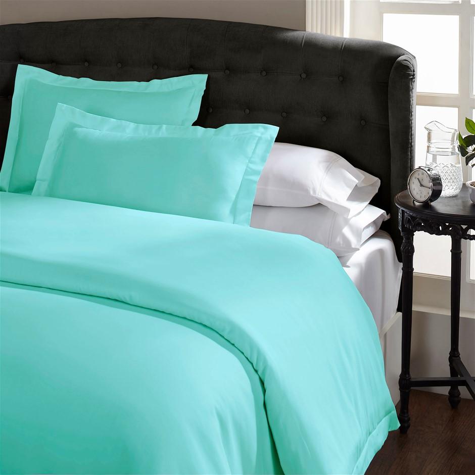 Royal Comfort 1500 Thread count Cotton Rich Quilt cover sets Queen Mist