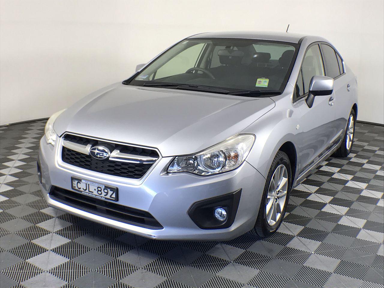 2012 Subaru Impreza 2.0i-L (AWD) G4 CVT Sedan