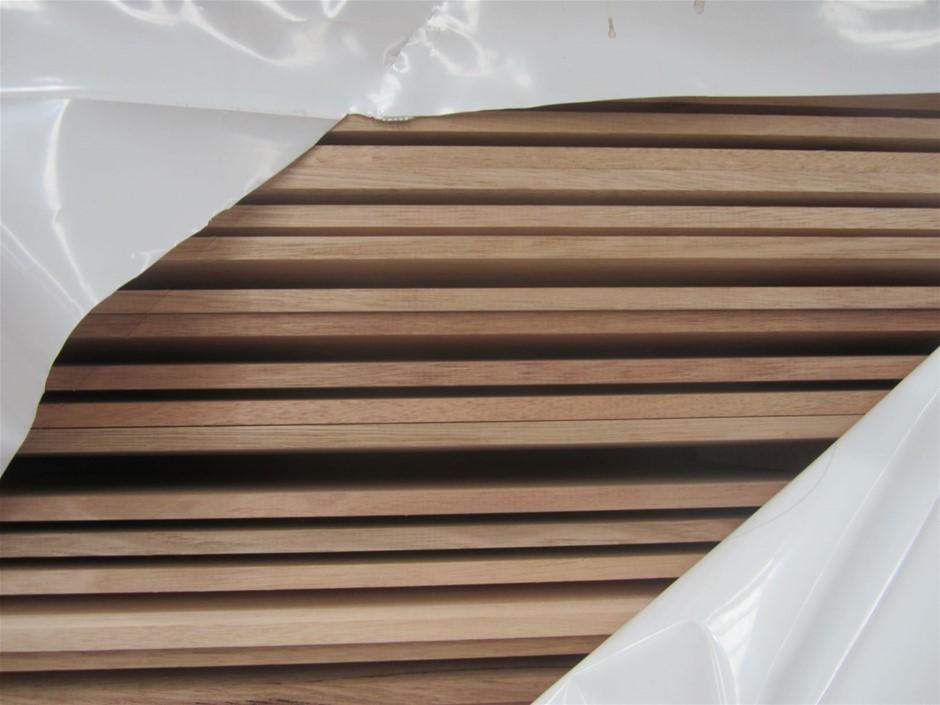 Pack of 165mm x 14mm Tasmanian Oak Standard Grade Or Better Weatherboards.