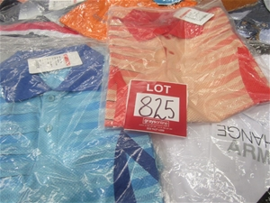 Assortment of polo shirts, various style