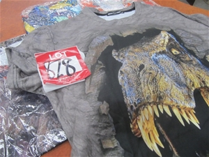 Selection of shirts and T shirts, variou