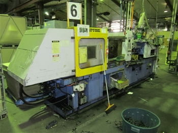2001 Topfine 170CE Injection Molder