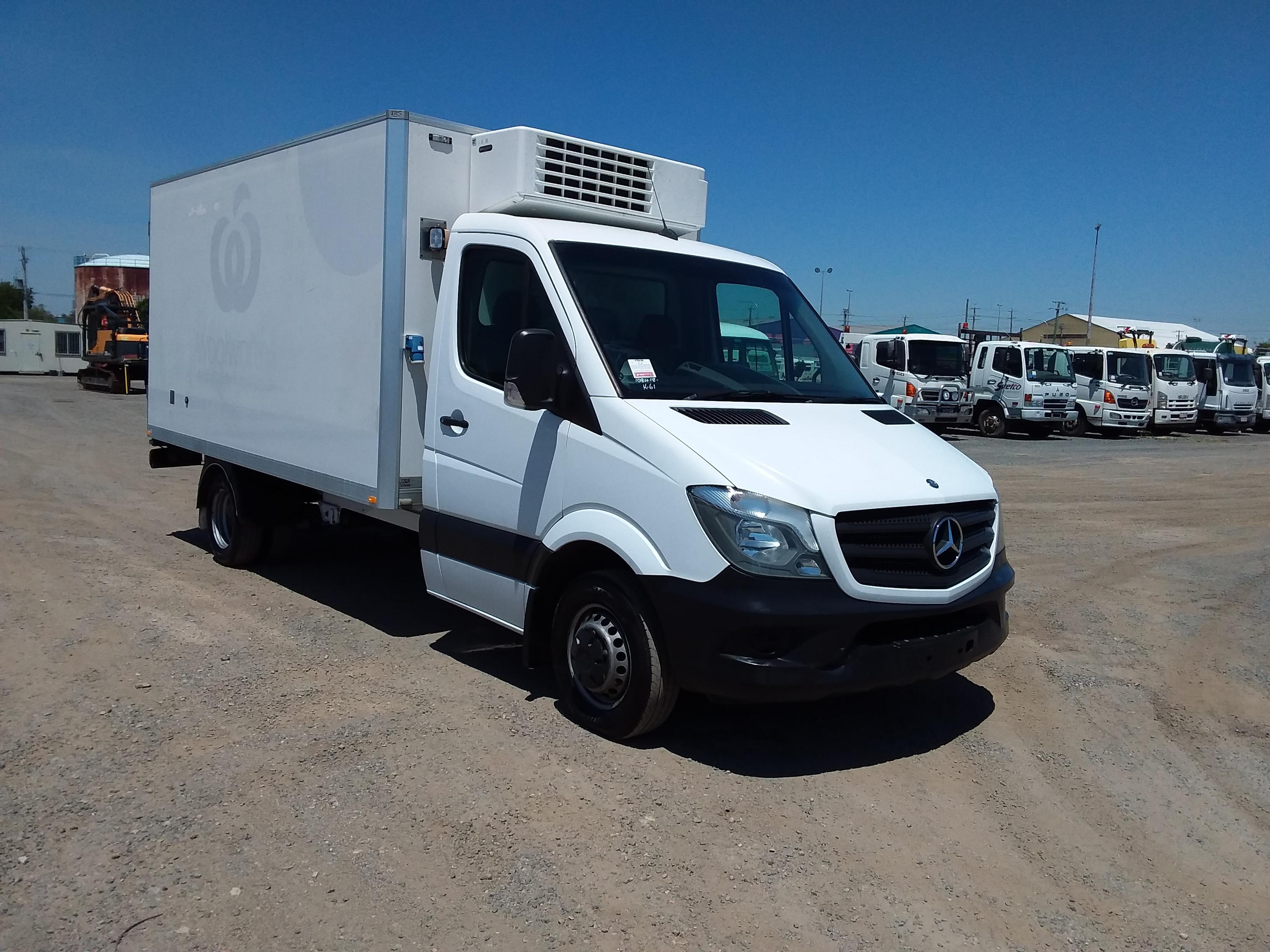 2014 Mercedes Benz Sprinter Auto T/Diesel Refrigerated Truck (Ex Fleet)