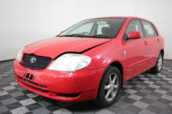 2003 Toyota Corolla Conquest Seca ZZE123R Automatic Hatchback