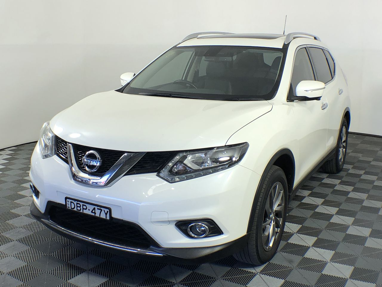 2015 Nissan X-Trail TL 2WD T32 Turbo Diesel CVT Wagon 54,548km