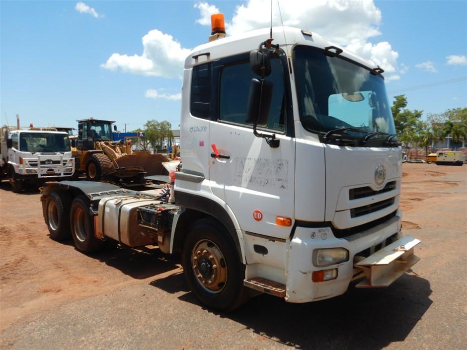 2010 UD Trucks GW470 6 x 4 Prime Mover Truck