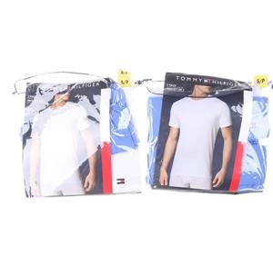 4 x TOMMY HILFIGER Men`s Cotton T-Shirts
