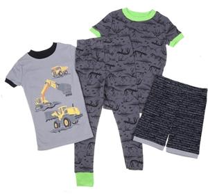 Kid`s 4pc Sleepwear Set, Size 5, Include