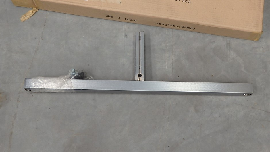 Qty 16x Steel Display Rack Bases to Suit Lots 200-202