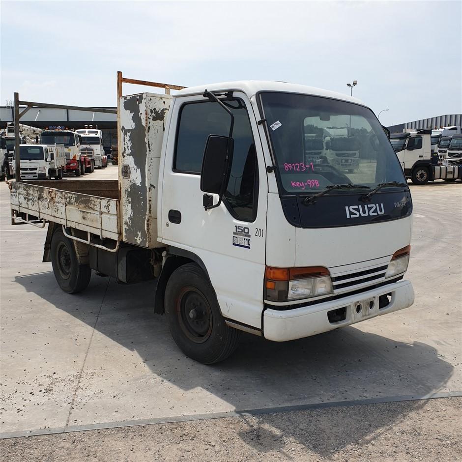 2002 Isuzu NKR500 Tray Body Truck