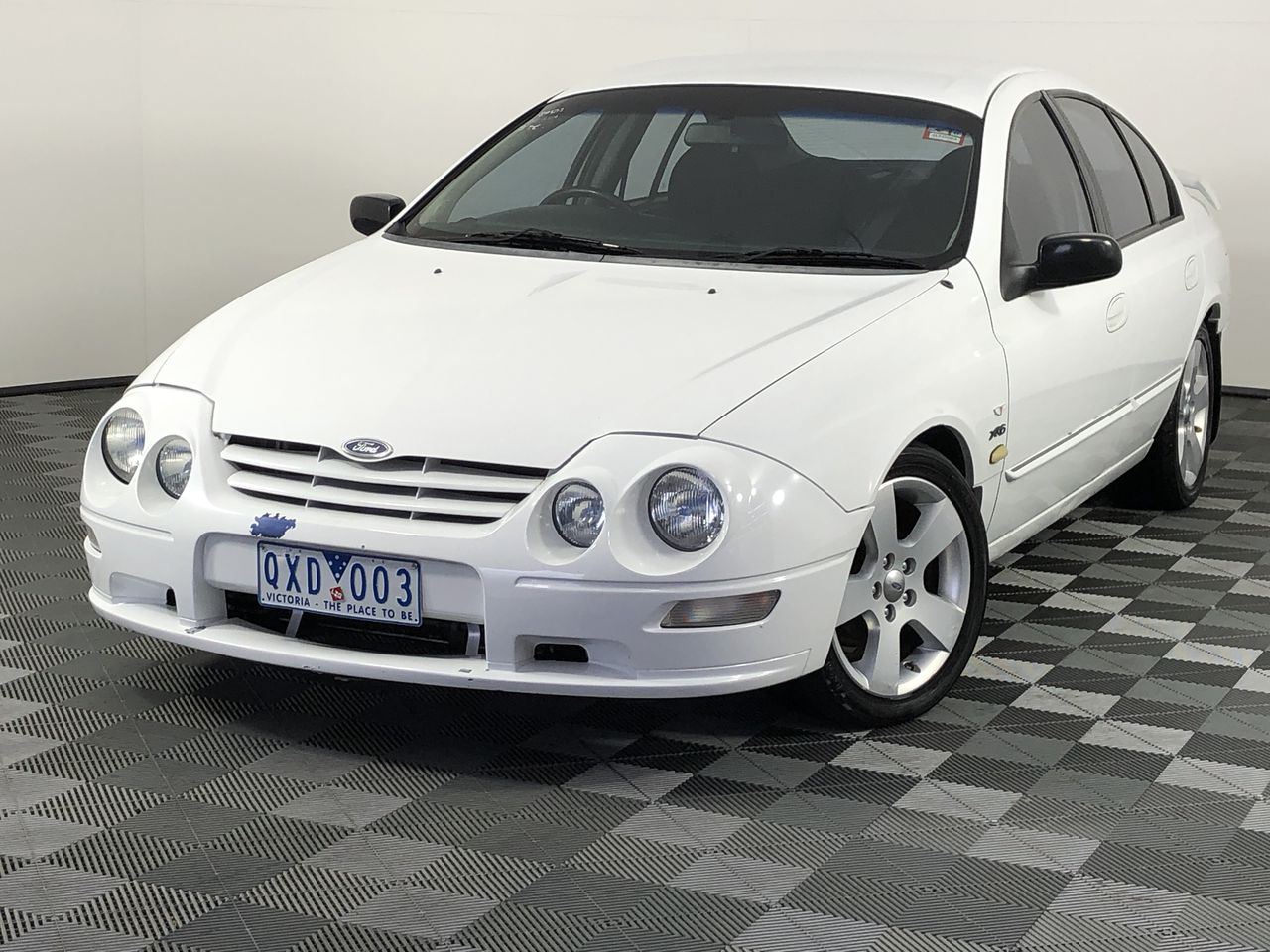 2001 Ford Falcon XR6 VCT AUII Dual Fuel Automatic Sedan