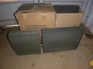 2 Cartons Containing 7 Carbon Blocks