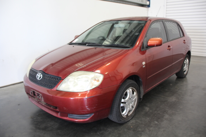 2002 Toyota Corolla Conquest Seca Auto Hatchback WOVR+INSPECTED