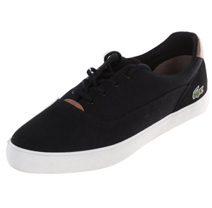 LACOSTE Jouer Men`s Canvass Boat Shoes,