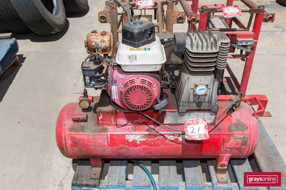 Incomplete Petrol Air Compressor