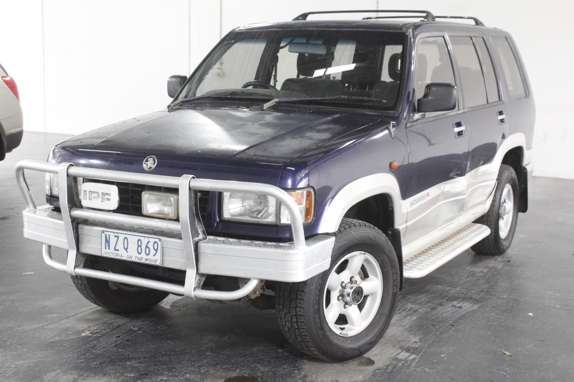 1996 Holden Jackaroo SE LWB (4x4) UBS Manual 7 Seats Wagon