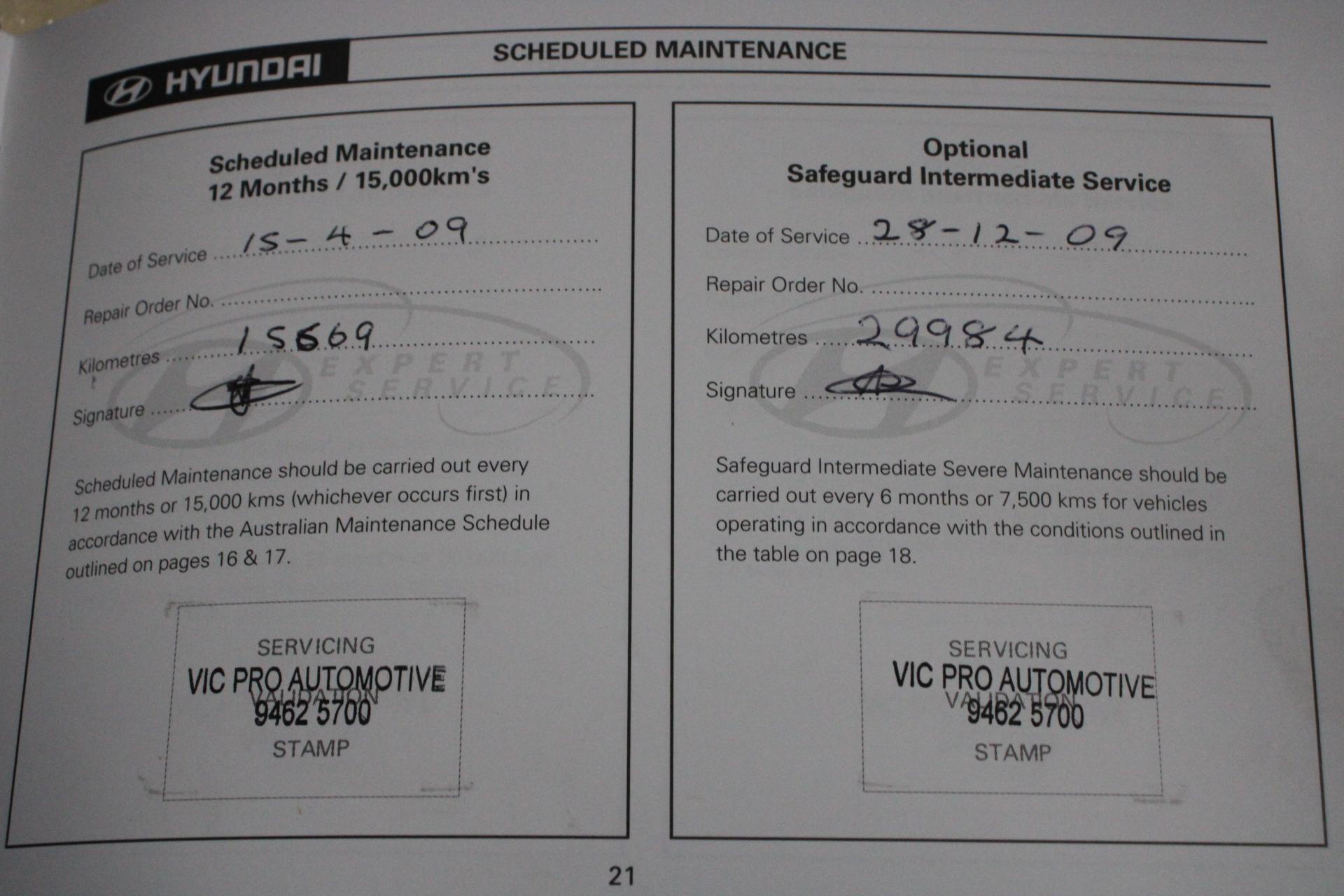 2008 Hyundai Getz SX TB Manual Hatchback Auction (0001