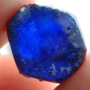 26.25ct. Genuine Rough Cut Blue sapphire
