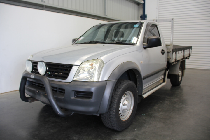 2004 Holden RA Rodeo Cab Chassis 158724 km's Service History