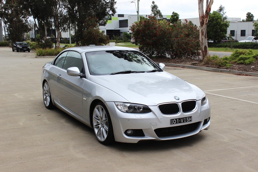 2009 BMW 320d Convertible M-sport 42,780km RWD Automatic Convertible