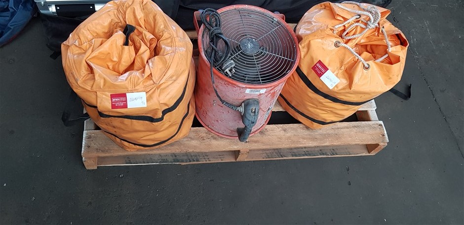 Bulk Lot Of Assorted Ventilation Equipment