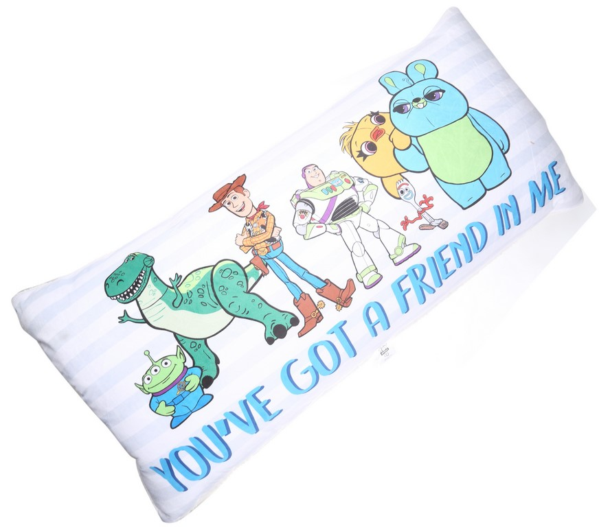 TOY STORY 4 - Children`s Body Pillow- Youve Got A Friend in Me. N.B. Small