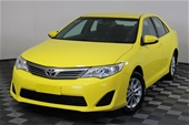 Unreserved 2014 Toyota Camry Altise ASV50R Automatic Sedan