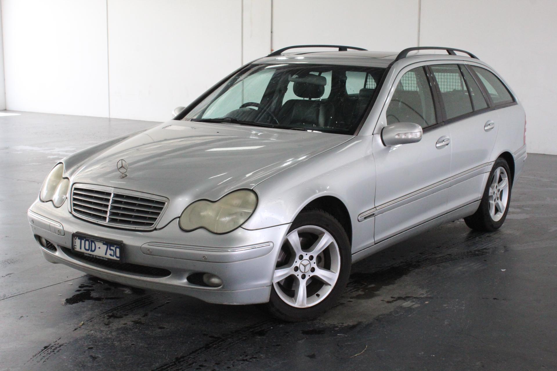 2001 Mercedes Benz C200 Elegance S203 Automatic Wagon