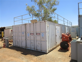Containerised Power Generation Unit - 4 x 88kw
