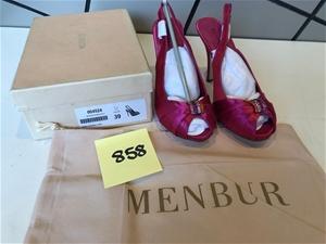 Designer MENBUR Ladies Shoes - Size 39