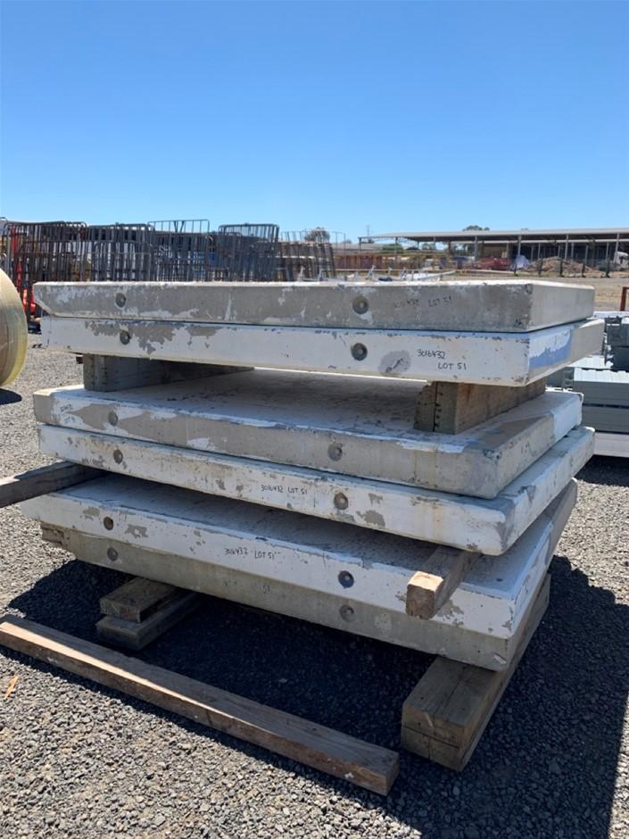6 x Concrete Tilt Panels