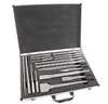 Leading Retail Brand 17pc SDS Chisel & Bit Set in Aluminum Carry Case, Cont