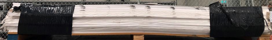 New PVC Foam Boards, 2400 x 1220, 51 sheets of 5mm