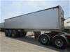 2011 Albury Transport Tri-Tipper Triaxle Grain Tipper Trailer