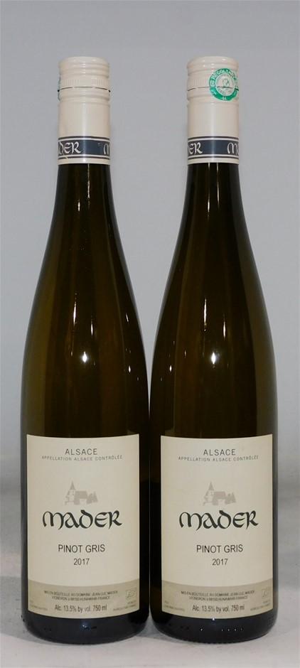 Mader 'Alsace' Pinot Gris 2017 (2 x 750mL)