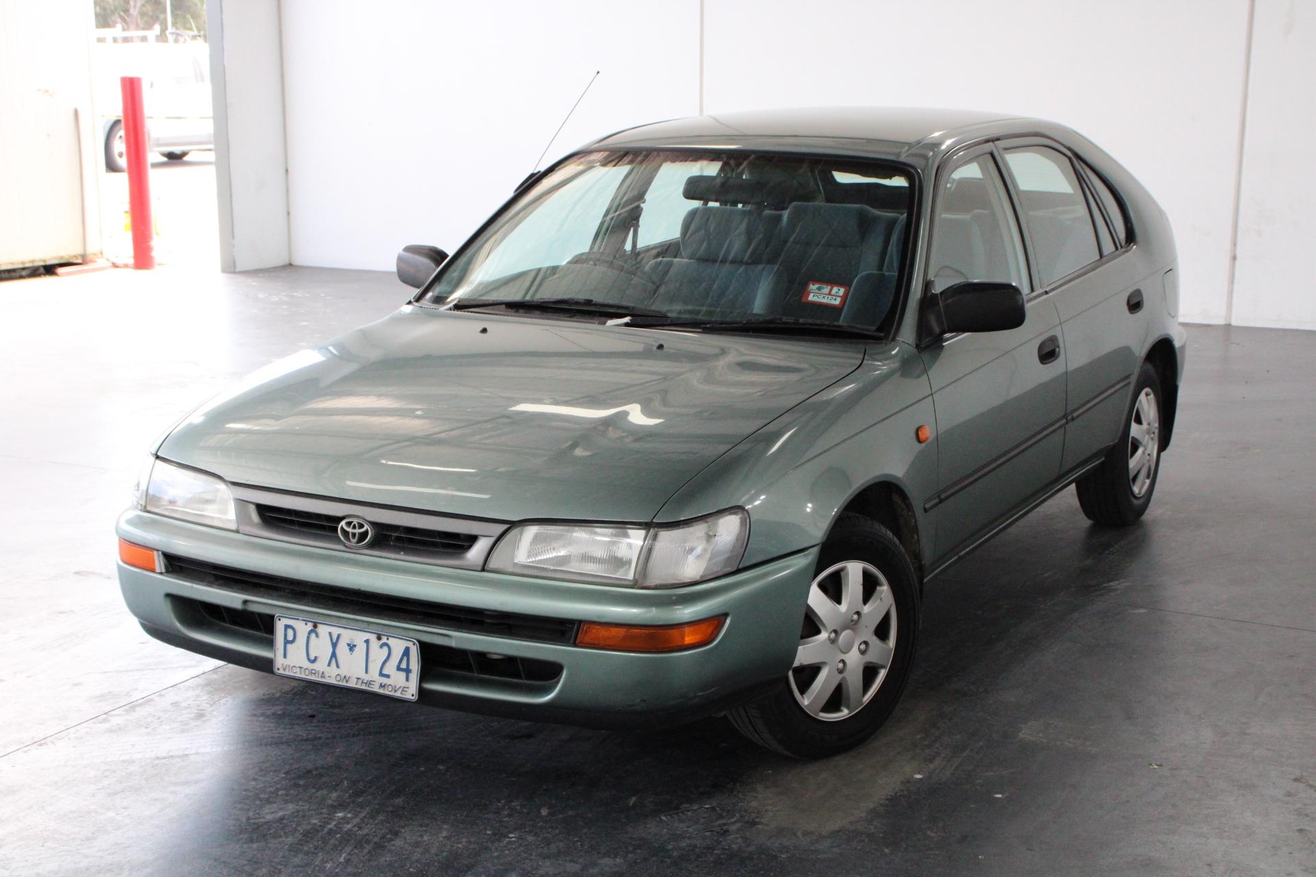1998 Toyota Corolla CSI Seca AE101 Manual Hatchback