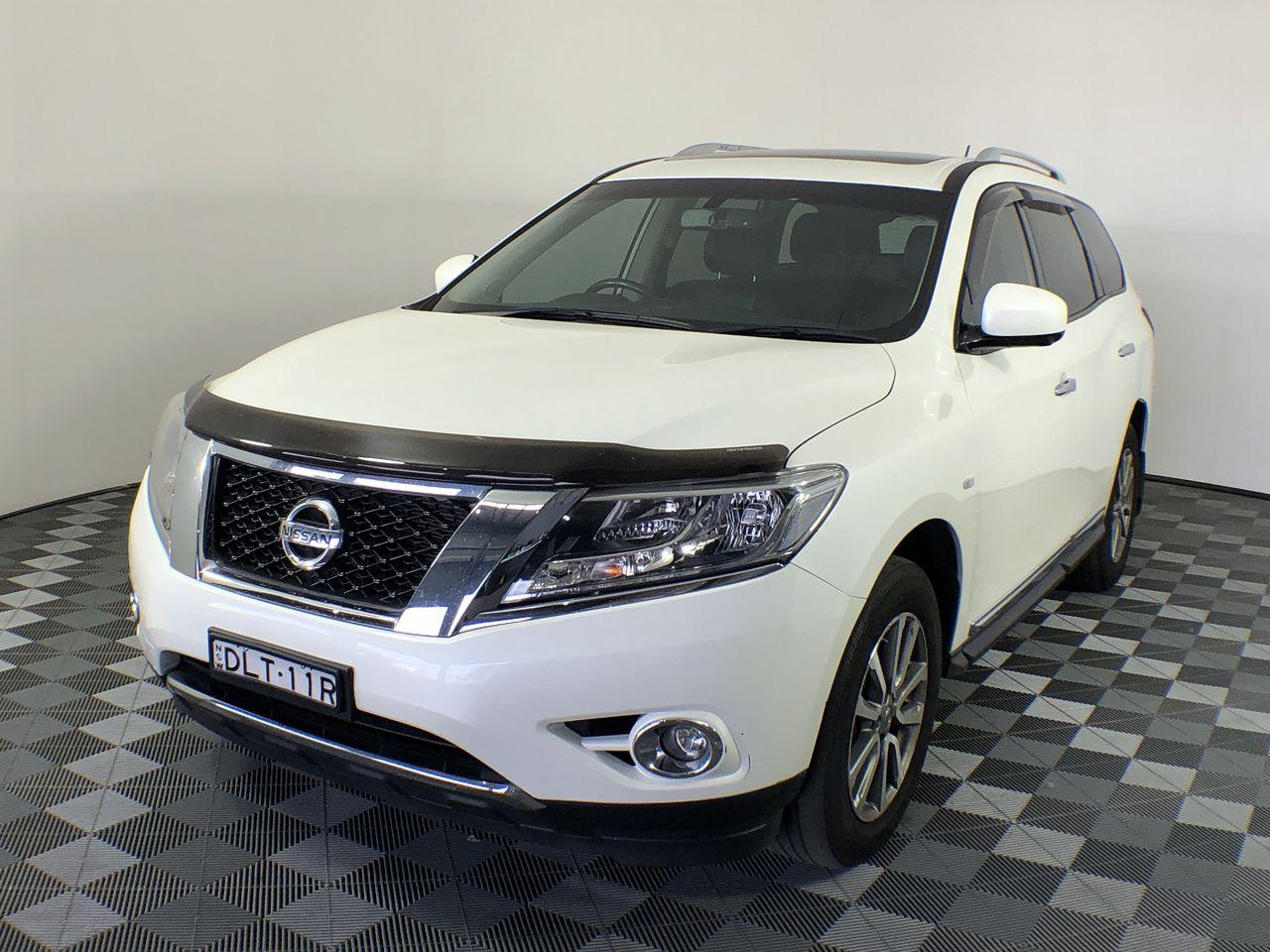2016 Nissan Pathfinder ST-L (4x4) R52 CVT 7 Seats Wagon