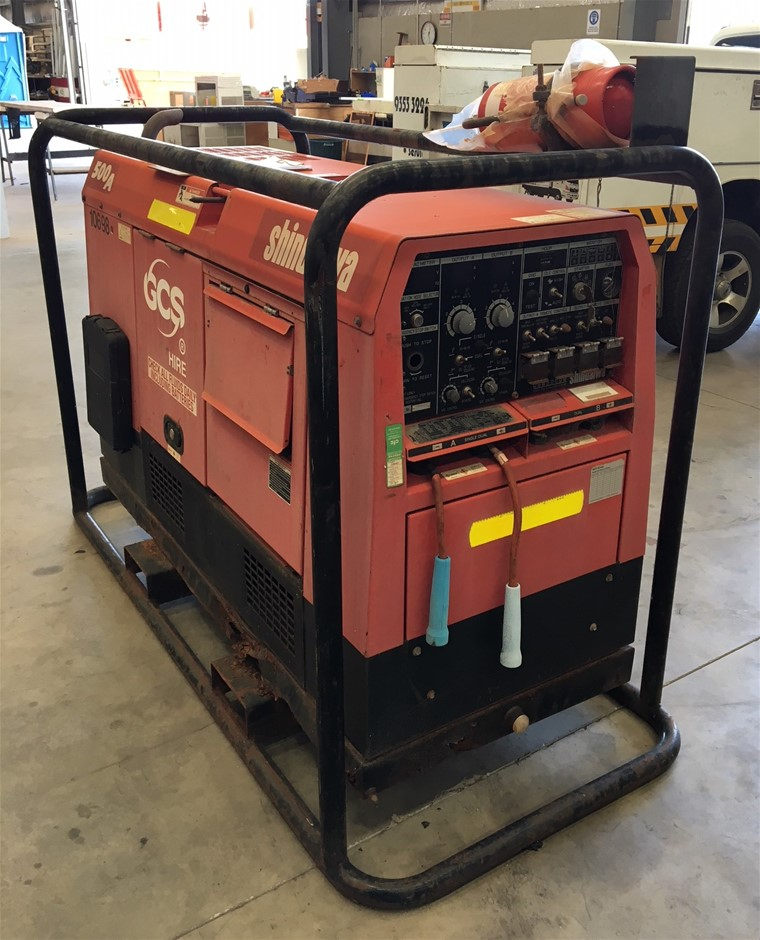 2010 Shindaiwa DGW500DM 480A/ 15Kva Welder/ Generator (Location: Wangara)