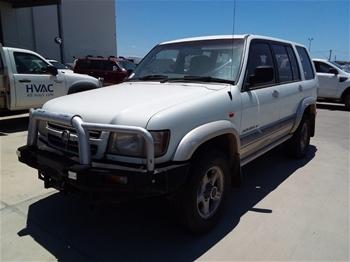 2002 Holden Jackaroo SE LWB (4x4) Automatic Wagon