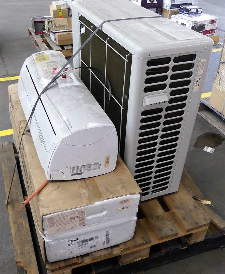 Pallet of 2 x Faulty Reverse Cycle Split Systems