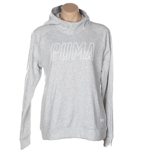 PUMA Pop-Over Hoodie, Size M, Grey. Buye