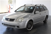 Unreserved 2006 Holden Viva JF Automatic Wagon